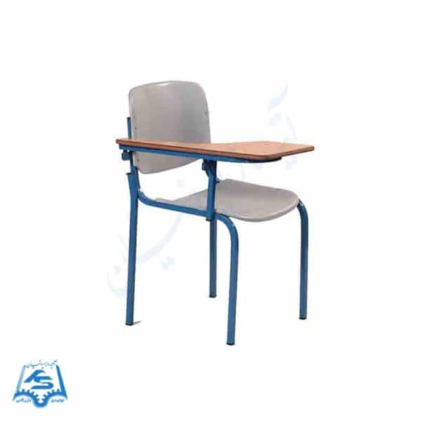 صندلی امتحانی پلاستیکی