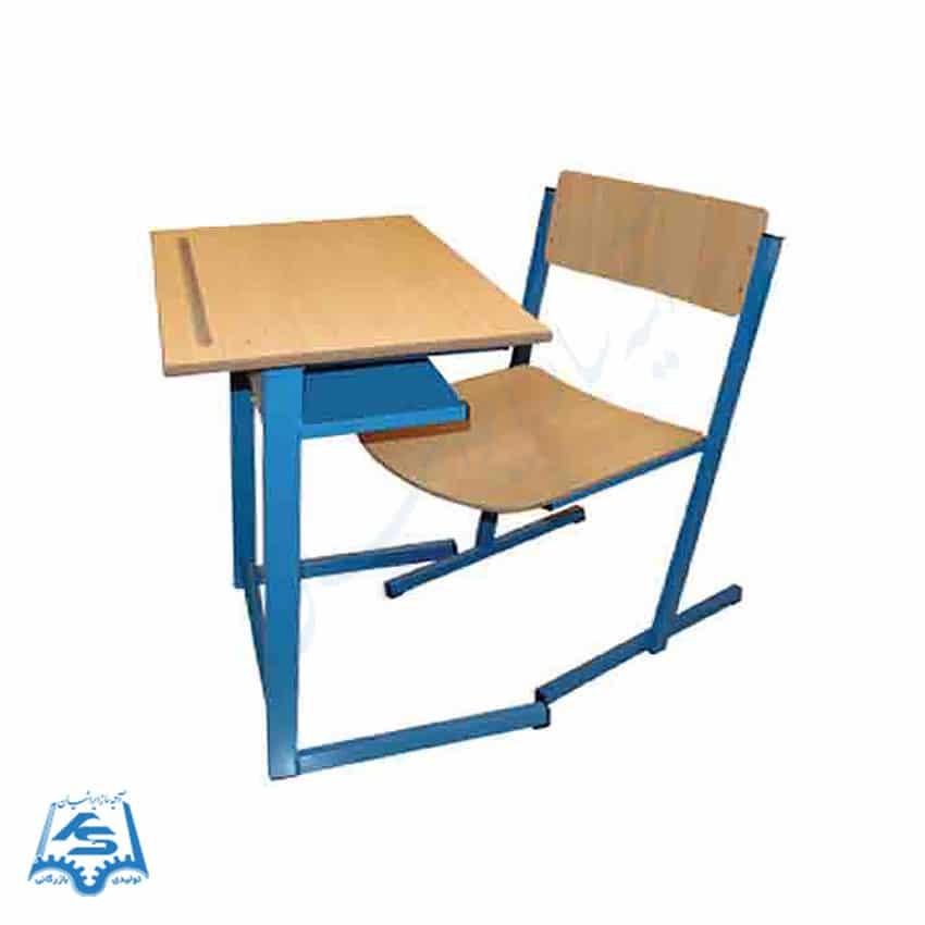 صندلی دانش آموزی و میز یک نفره
