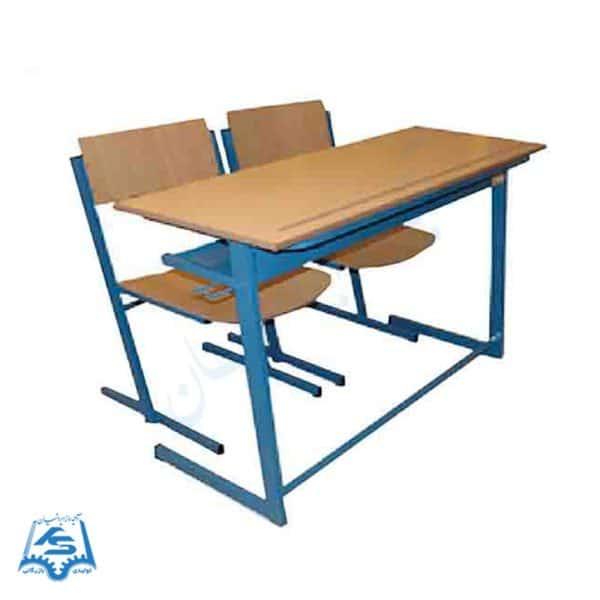 صندلی دانش آموزی و میز ۲ نفره