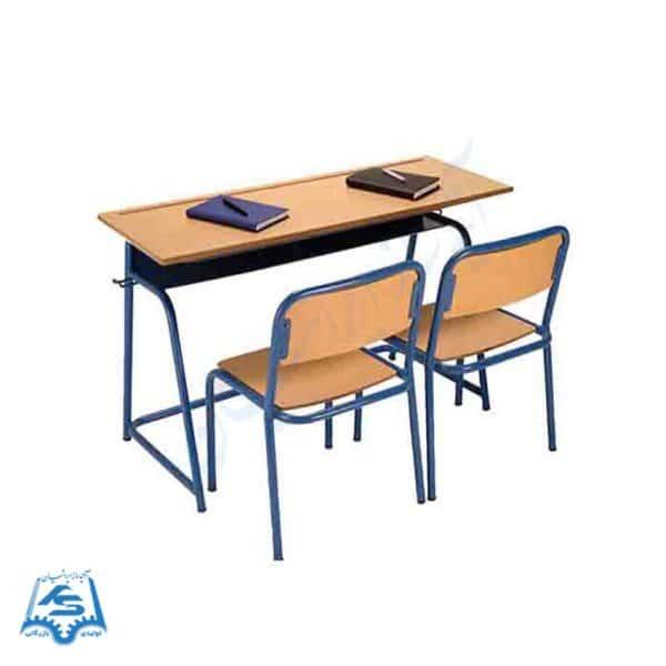 میز و صندلی ۲ نفره لوله ای