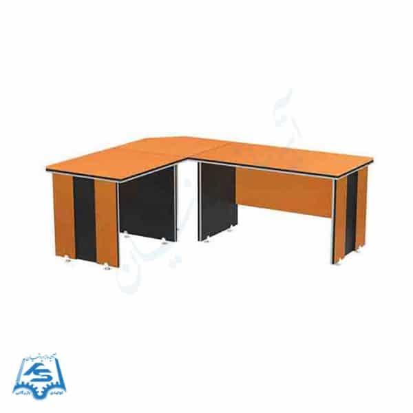 میز کارمندی ال MDF