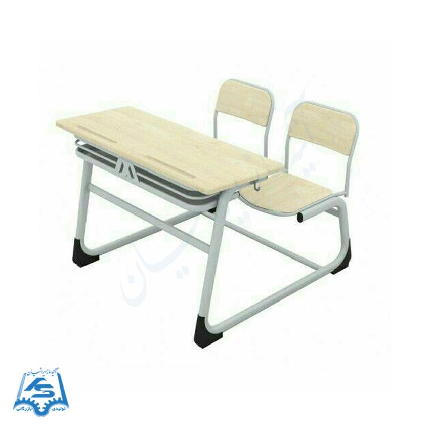 میز و صندلی لوله بیضی