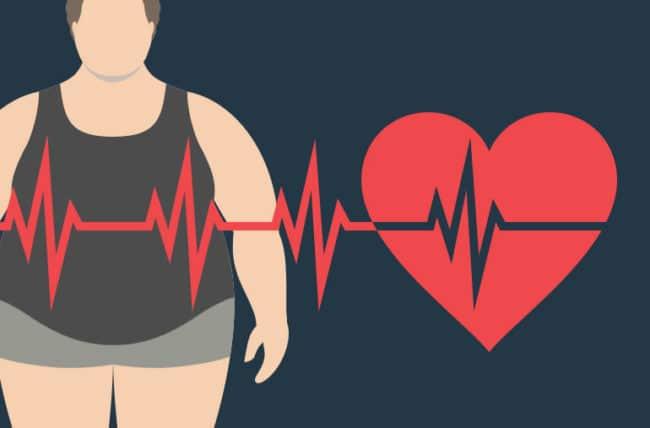 ضربان قلب و چاقی